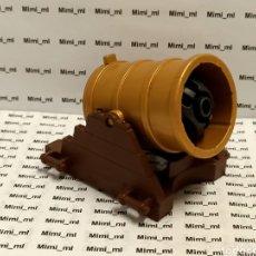 Playmobil: PLAYMOBIL CAÑÓN DORADO Y BOMBARDA CASTILLO MEDIEVAL BASTIÓN FRANCÉS CÁRCEL PIRATA. Lote 243023815