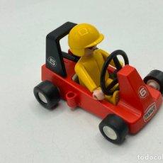Playmobil: PLAYMOBIL CAR DE CARRERAS CON FIGURA 3575. Lote 243185470