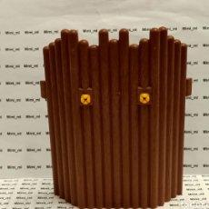 Playmobil: PLAYMOBIL 4433 FACHADA MADERA FORTALEZA VIKINGA PARED EMPALIZADA. Lote 243197035