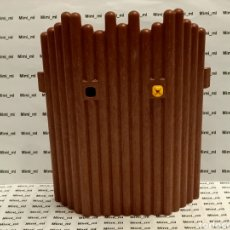 Playmobil: PLAYMOBIL 4433 PARED MADERA FACHADA FORTALEZA VIKINGA EMPALIZADA. Lote 243197225
