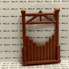 Playmobil: PLAYMOBIL 4433 PARED MADERA SYSTEM X FORTALEZA VIKINGA EMPALIZADA. Lote 243197730