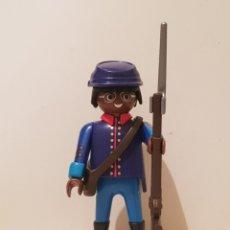Playmobil: PLAYMOBIL BUFFALO SOLDIER NORDISTA GUERRA CIVIL USA SUDISTA UNIONISTA. Lote 289849198
