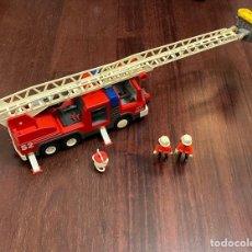 Playmobil: CAMIÓN DE BOMBEROS PLAYMOBIL. Lote 243597310