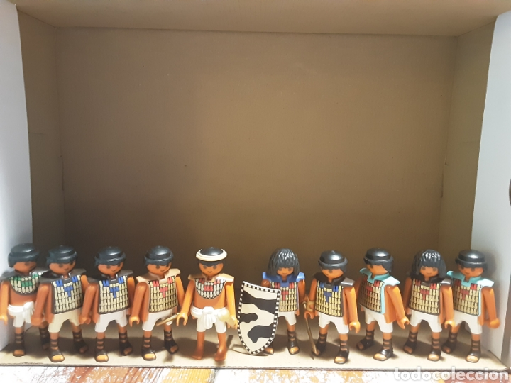 LOTE SOLDADOS EGIPCIOS PLAYMOBIL (Juguetes - Playmobil)