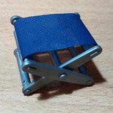 Playmobil: PLAYMOBIL SILLA PLEGABLE AZUL CAMPING CIUDAD. Lote 243879610
