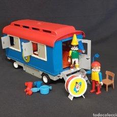 Playmobil: REMOLQUE PAYASOS CIRCO VINTAGE DE PLAYMOBIL, REF 3477. Lote 243991870