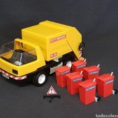 Playmobil: CAMIÓN DE BASURA VINTAGE DE PLAYMOBIL, REF 3470. Lote 243997820