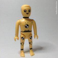 Playmobil: PLAYMOBIL FIGURA MUÑECO DUMMY CRASH TEST SIMULACIÓN ACCIDENTES TRAFICO COCHES ROBOT ESPACIO PIEZAS. Lote 244203655
