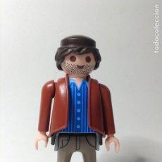 Playmobil: PLAYMOBIL FIGURA HOMBRE OESTE BARBA WESTERN PIEZAS. Lote 244203925