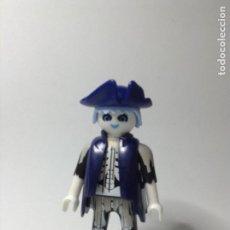 Playmobil: PLAYMOBIL FIGURA CAPITAN PIRATA FANTASMA SABLE BARCO GALEON PIRATAS PIEZAS. Lote 244204260