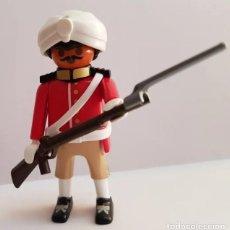 Playmobil: PLAYMOBIL SOLDADO SIKH INDIO INGLES BRITÁNICO 1898. Lote 262573985