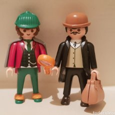 Playmobil: PLAYMOBIL SHERLOCK HOLMES Y WATSON DETECTIVES VICTORIANO 4501 6525. Lote 244436280