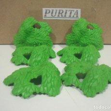 Playmobil: PLAYMOBIL 6 HOJAS PLANTAS VEGETACION. Lote 244446980