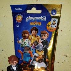 Playmobil: FIGURA PLAYMOBIL THE MOVIE SERIE 1 JAMES BOND DETECTIVE SECRETO ESPÍA PEGATINA PELÍCULA. Lote 246039055