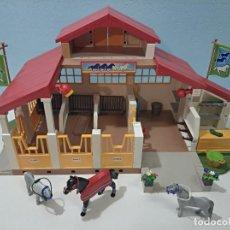 Playmobil: PLAYMOBIL ESTABLO DE CABALLOS 4190, GRANJA, CITY.... Lote 246050260