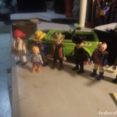 Playmobil: LOTE 9 PIEZAS PLAYMOBIL KEKOS 8 Y 1 COCHE. Lote 246159180
