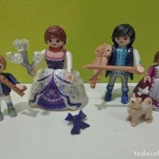 Playmobil: PLAYMOBIL LOTE FIGURAS FAMILIA REYES DEL HIELO CALENDARIO DE ADVIENTO, VICTORIANO, CITY.... Lote 246224290