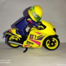 Playmobil: PLAYMOBIL MEDIEVAL MOTO DE CARRERAS PILOTO. Lote 284724523