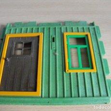 Playmobil: PLAYMOBIL. MURO CON PUERTA DE CASA DE SHERIF. DE LA REF. 3786. Lote 248606195