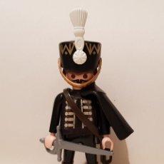 Playmobil: PLAYMOBIL HUSAR REGIMIENTO BRUNSWICK TOTENKOPF NAPOLEÓNICO NAPOLEÓN SOLDADO INGLES FRANCES. Lote 262573955