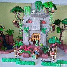 Playmobil: ANTIGUAS RUINAS MAYAS TEMPLO REF 3015 DE PLAYMOBIL EN MUY BUEN ESTADO. Lote 250314120