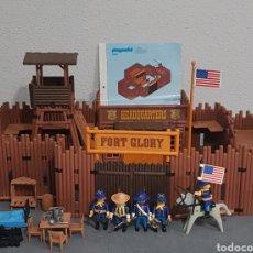 Playmobil: FUERTE GLORY, NORDISTAS, OESTE, WESTERN, VINTAGE DE PLAYMOBIL, REF 3806. Lote 253139290