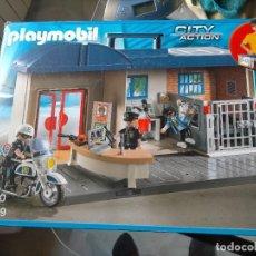 Playmobil: PLAYMOBIL 5299 MALETÍN JEFATURA DE POLICÍA. COMPLETO Y CON CAJA ORIGINAL. COMO NUEVO. Lote 253912820