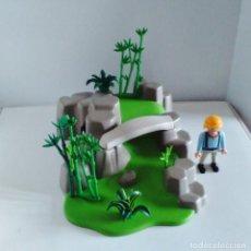 Playmobil: DIORAMA OSOS PANDA JARDÍN ASIÁTICO PLAYMOBIL 5414. Lote 254019705