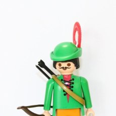 Playmobil: PLAYMOBIL MEDIEVAL FIGURA ROBIN HOOD ARQUERO. Lote 254104545