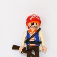 Playmobil: PLAYMOBIL MEDIEVAL FIGURA PIRATA BARCO. Lote 254104590