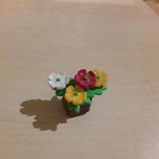 Playmobil: PLAYMOBIL MACETERO MARRON VEGETACIÓN MODERNO CASA VICTORIANA FLORES. Lote 254106370