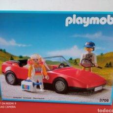 Playmobil: COCHE DEPORTIVO TENISTAS REF.3708 PLAYMOBIL 1992.NUEVO EN CAJA SIN ABRIR.. Lote 255429935