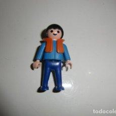 Playmobil: JUGUETE PLAYMOBIL NIÑO GEOBRA 1981 CON CHALECO SALVAVIDAS. Lote 255522850