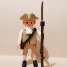 Playmobil: PLAYMOBIL SOLDADO AMERICANO GUERRA INDEPENDENCIA PATRIOTA CONTINENTAL REVOLUCIONARIO 1765 - 1783. Lote 289849228