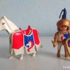Playmobil: PLAYMOBIL CABALLEROS - CABALLERO UNICORNIO CON CABALLO. Lote 257866885