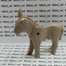 Playmobil: PLAYMOBIL BURRO PRIMERA ÉPOCA ASNO MEDIEVAL WESTERN OESTE ANIMALES. Lote 259715445