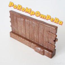 Playmobil: PLAYMOBIL SECCIÓN CORTA SEPARADOR JUSTA MEDIEVAL 5355 5356 5357 5358 VALLA TIPO MADERA TORNEO. Lote 261281335