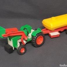 Playmobil: TRACTOR CON DEPÓSITO VINTAGE DE PLAYMOBIL REF 3500. Lote 261546990