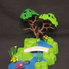 Playmobil: ESTANQUE CON CASCADA DE PLAYMOBIL. Lote 261547330