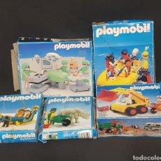 Playmobil: LOTE DE CAJAS VACÍAS DE PLAYMOBIL VINTAGE. Lote 261548565
