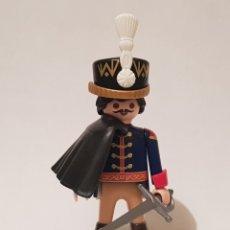 Playmobil: PLAYMOBIL HUSAR REGIMIENTO BRUNSWICK TOTENKOPF NAPOLEÓNICO NAPOLEÓN SOLDADO INGLES FRANCES. Lote 261812090