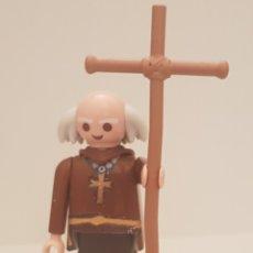 Playmobil: PLAYMOBIL CAPELLÁN MONJE CURA MEDIEVAL TERCIO ESPAÑOL TERCIOS ESPAÑOLES FLANDES CONQUISTADOR. Lote 262228770