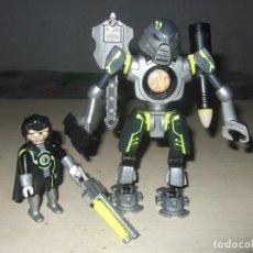 Playmobil: ROBOT Y AGENTE ESPIA - PLAYMOBIL - REF. 5289 - TOP AGENTS 2 (COMPLETOS). Lote 262468015