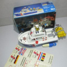 Playmobil: PLAYMOBIL LANCHA BARCO GUARDACOSTAS, MADE IN SPAIN 1984, REF. 3599. Lote 262880620