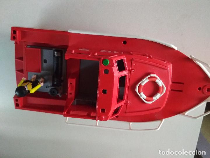 Playmobil: PLAYMOBIL BARCO RESCATE 112 BOMBEROS EMERGENCIAS MAR, 40 cnt largo, mirar fotos - Foto 3 - 264326148