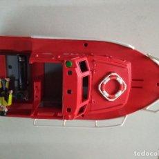 Playmobil: PLAYMOBIL BARCO RESCATE 112 BOMBEROS EMERGENCIAS MAR, 40 CNT LARGO, MIRAR FOTOS. Lote 264326148