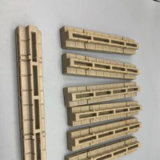 Playmobil: PLAYMOBIL LOTE UNIONES TRES CARAS CASTILLO TORRE MEDIEVAL 3446 3450 3666 3667 ETC. Lote 265372669