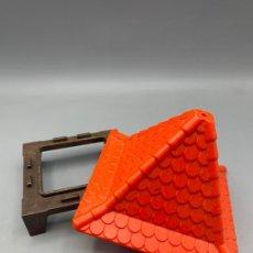 Playmobil: PLAYMOBIL LOTE TEJADO TORRE MÁS SU BASE CASA MEDIEVAL CASTILLO. Lote 265484919