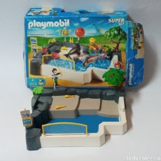 Playmobil: PLAYMOBIL ESCENARIO ZOO FOCAS REF 3135. Lote 265906428