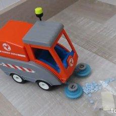 Playmobil: PLAYMOBIL 4045 - BARREDORA LIMPIEZA CIUDAD, COCHE CAMION DE BASURA. Lote 266399728